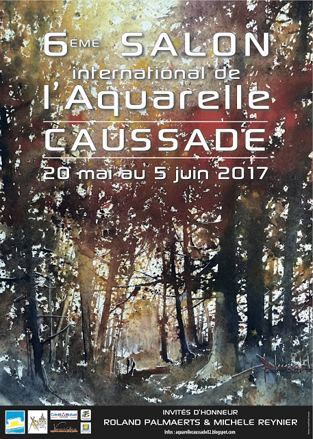 Salon International d'Aquarelle, Caussade @ Caussade, Tarn et Garonne