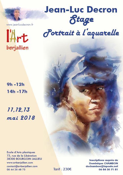 Stage près de Lyon @ L'Art Berjallien - 73, rue de la Libération | Bourgoin-Jallieu | Auvergne-Rhône-Alpes | France