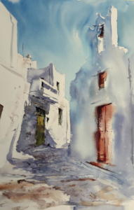 Rue de Chora Amorgos