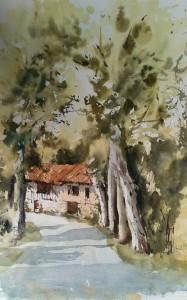 Castelnau-Barbarens Le moulin