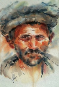 Marchand Afghan (d'après photo de Philippe Bichon)