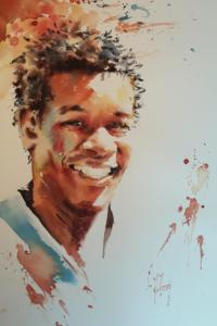 Homme souriant 2